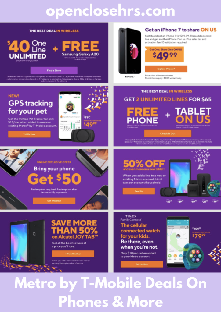 Metro By T-Mobile Deals On Phones And More