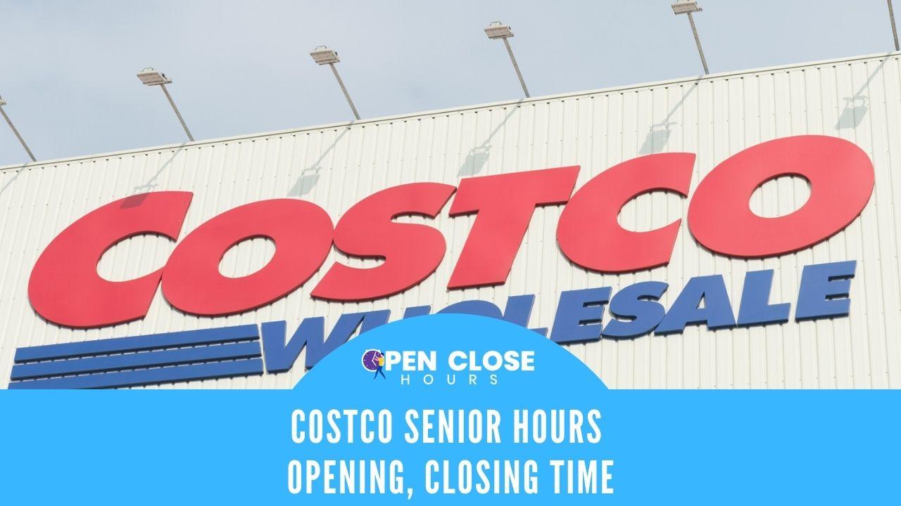 costco senior hours